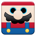 cartoon, mario icon