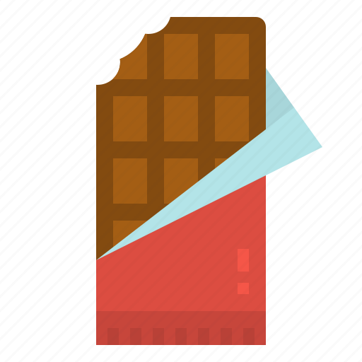 Bar, chocolate, dessert, snack, sweet icon - Download on Iconfinder