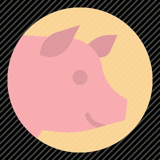 animals, kingdom, meat, pig, pork icon