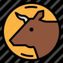 animal, animals, beef, cow, steak icon