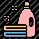 cleaning, fabric, laundry, softener, washing icon