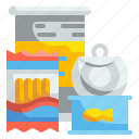 supermarket, box, package, instant, canned, noodles, food icon