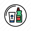 household, department, cart, store, chemicals, supermarket