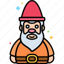 gnome, small people, supernatural icon