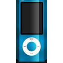 nano, ipod, blue