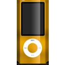 nano, orange, ipod