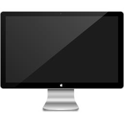cinema display, monitor, screen icon
