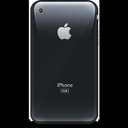 apple, iphone, retro icon