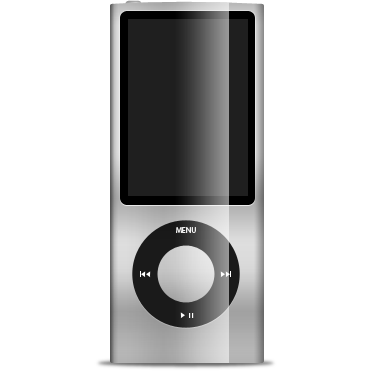 gray, ipod, nano icon