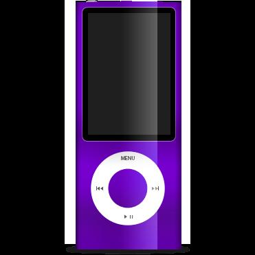 ipod, nano, purple icon