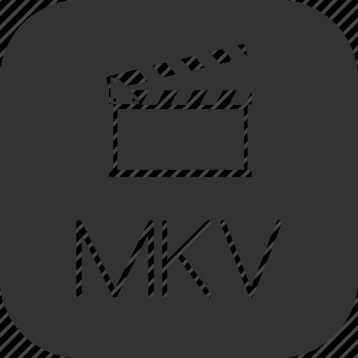 clip, mkv, movie, video icon
