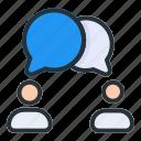bubble, chat, conversation