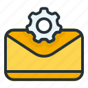 email, setting, mail