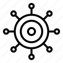 target, connection, network, internet