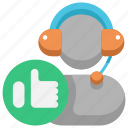conversation, customer, feedback, like, rate, review, satisfaction icon