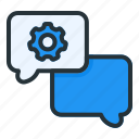 setting, communication, interaction, chat, message