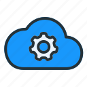 cloud, setting, weather, forecast, gear