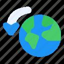 flip, world, globe, earth, flag, country, national