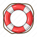 attribute, beach, lifebuoy, recreation, sport, surfing icon