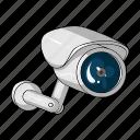 alarm, camera, equipment, security, surveillance, video, video surveillance