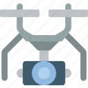 drone, security, spy, surveillance icon