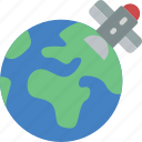 satellite, security, spy, surveillance icon