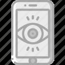 mobile, security, spy, surveillance icon