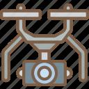 drone, security, surveillance icon