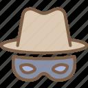 incognito, security, spy, surveillance icon