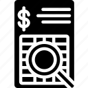 analysis, financial, security, spy, surveillance icon