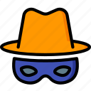 incognito, security, spy, surveillance icon