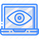 laptop, security, spy, surveillance icon