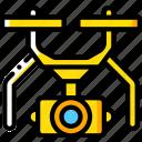 drone, security, spy, surveillance icon