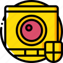 camera, security, spy, surveillance icon