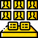 control, room, security, spy, surveillance icon