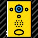 camera, intercom, security, spy, surveillance