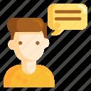 customer, customer feedback, feedback icon