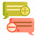 improvement, recommendations, review, suggestions, testimonials icon
