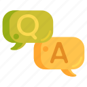 answer, forum, question, question and answer, session