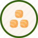 california, culture, food, japan, maki, sushi, tradition icon