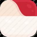 culture, food, hokkigai, japan, japan food, sushi, tradition icon