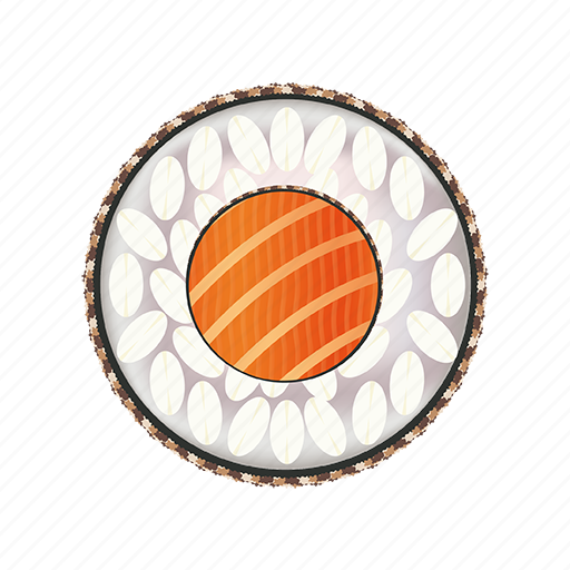 asian, asian meal, delicacy, dinner, fresh, gourmet, japan, japanese, lunch, raice, restaurant, rice, roll, salmon, seafood, sushi, traditional icon