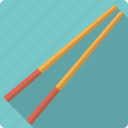 chopsticks, food, japan, rice, seafood, sushi icon