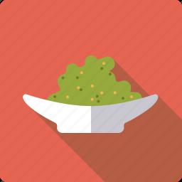food, mustard, plate, sauce, sushi, wasabi icon