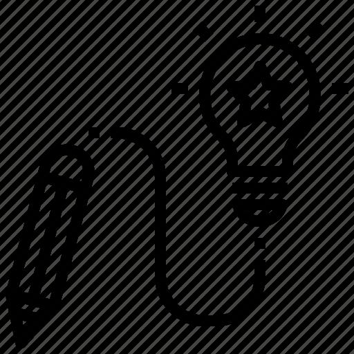 Creative, design, idea, knowledge, project icon - Download on Iconfinder