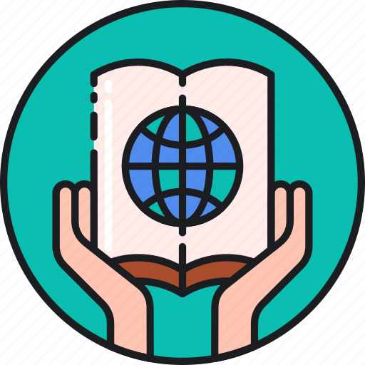 education, education for all, global, study icon