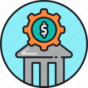 banking, finance, financial, loan, money, service icon