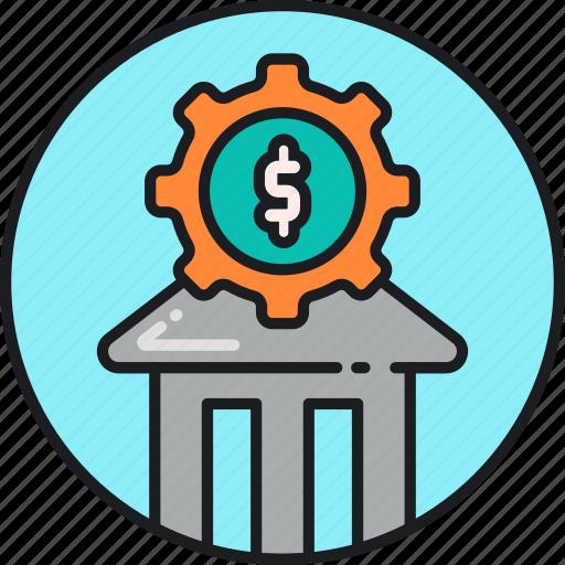 banking, finance, financial, loan, money, service icon