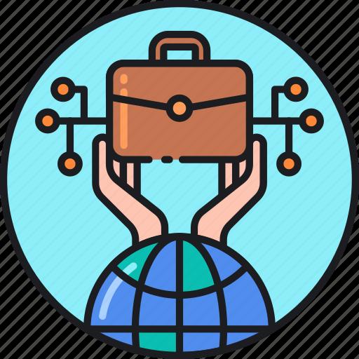business, global, international, marketing, online, retail, worldwide icon