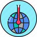 change, climate, earth, global, temperature, warm, warming icon